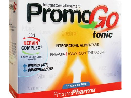 PromoGo Tonic di Promopharma: l'integratore per corpo e mente