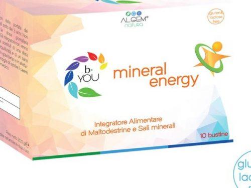 Mineral Energy di Algem Natura: l'integratore salino consigliato